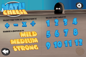 Screenshot of Math games