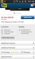 Screenshot of Best Buy Canada