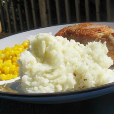 Mashed Potatoes With Garlic and Horseradish