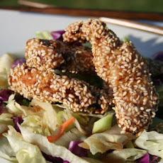 Hot Sesame Chicken Salad