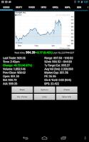Screenshot of Stock Quote