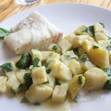 Artichoke Hearts in Lemon-Parsley Sauce