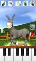 Screenshot of Talking Donald Donkey AdFree