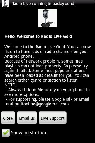 Radio Live Gold