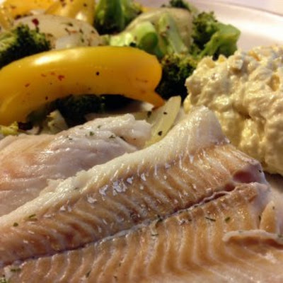 Poached Cod With Horseradish Mayo