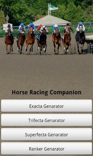 Horse Racing Companion