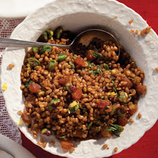 Spiced Wheat Berry Pilaf