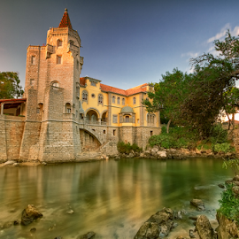 Museu Condes de Castro Guimarães by António Leão de Sousa - Buildings & Architecture Public & Historical ( water, canon, cascais, museu condes de castro guimarães, bridges )