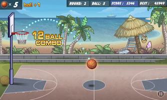 Screenshot of Basketball Shoot
