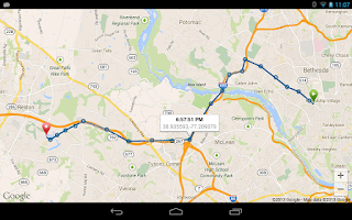 Screenshot of TripLog - GPS Mileage Tracker