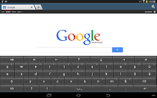 Screenshot of Deutsche Tastatur