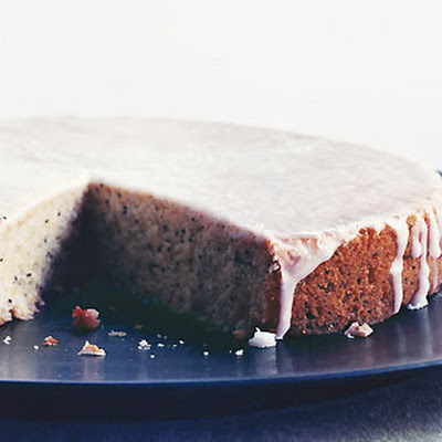 Glazed Lemon Poppy-Seed Cake