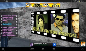 Screenshot of Bollywood Movie Posters