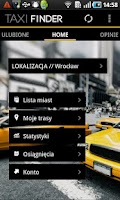 Screenshot of Taxi Finder
