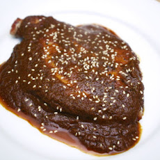 Dinner Tonight: Chicken Breasts in Ginger Mole (Mole de Jengibre con Pechugas de Pollo)