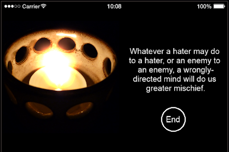 Buddhist Meditation - screenshot