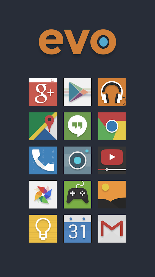 Evo Icon Pack Screenshot 0