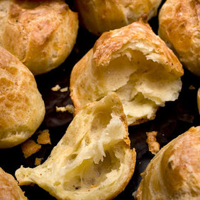 Black Pepper–Manchego Cheese Puffs