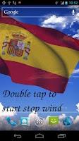 Screenshot of 3D Spain Flag Live Wallpaper +