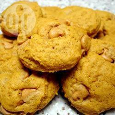 Pumpkin and Butterscotch Cookies