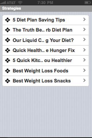 【免費健康App】Weight Loss Diet-APP點子
