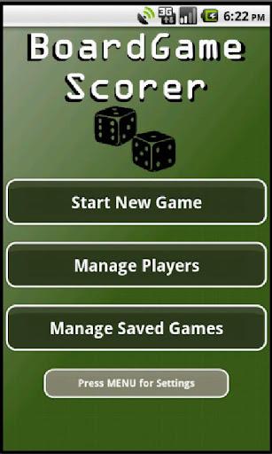 BoardGame Scorer FULL
