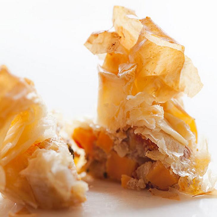 Sweet Potato Pecan and Goat Cheese Bites