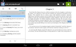 Screenshot of qPDF Viewer Free PDF Reader
