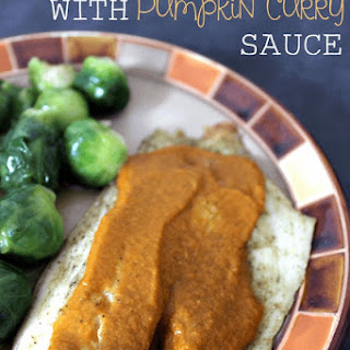 Baked Fish with Pumpkin Curry Sauce