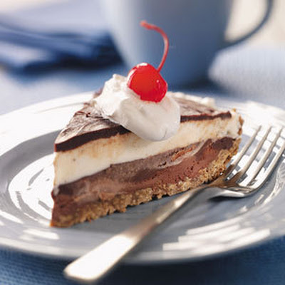 Black-Bottom Ice Cream Pie