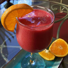 Berry Tart Orange Smoothie