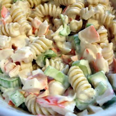 10 Best Imitation Crabmeat Salad Pasta Recipes | Yummly