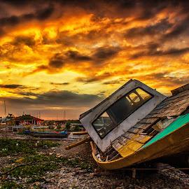 terkapar by Dek . - Landscapes Sunsets & Sunrises