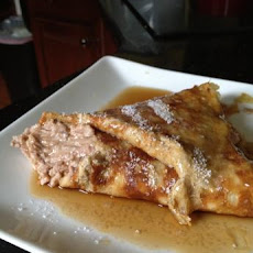 South Beach Diet Breakfast Crepes With Ricotta Cocoa Filling