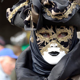 by Bruno Brunetti - People Musicians & Entertainers ( carnival, 2015, venice, mask, italy )