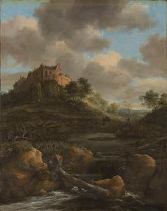 RIJKS: Jacob Isaacksz. van Ruisdael: Bentheim Castle 1682