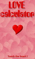 Screenshot of Love Calculator