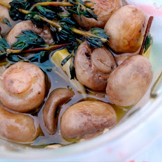Herby Marinated Mushrooms