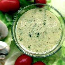 Almost-Empty Dijon Mustard Jar Vinaigrette Salad Dressing