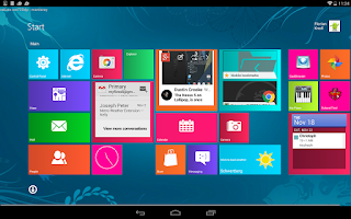 Screenshot of Metro UI Launcher 8.1