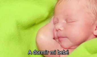 Screenshot of Canción de Cuna - A Dormir