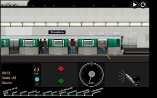 Screenshot of Paris Métro Simulator