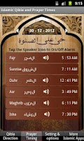 Screenshot of Islamic Prayer Times & Qibla