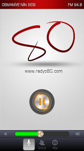 Radyo 80 - screenshot