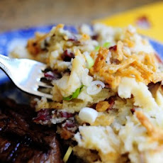 Restaurant Style Smashed Potatoes
