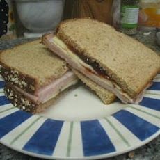 Sweet and Spicy Turkey Sandwich