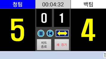 Screenshot of 점수판