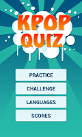 Screenshot of K-Pop Quiz