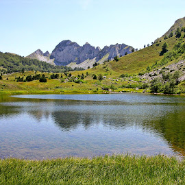 Natural lake by Slobodan Bobo Kovac - Landscapes Waterscapes ( water, wild, mountain, nature, waterscape, bobo, foca, zelengora, lake, landscape, photo )