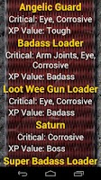 Screenshot of Borderlands 2 Monster List